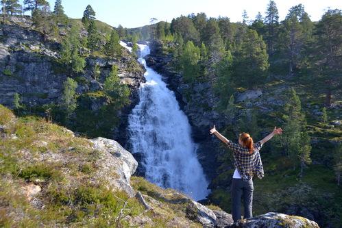 Norské vodopády