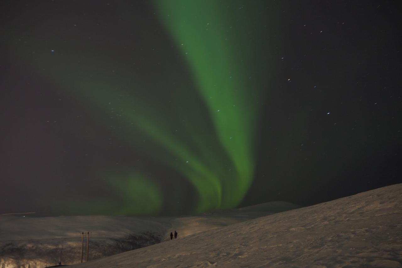 polární záře Tromso